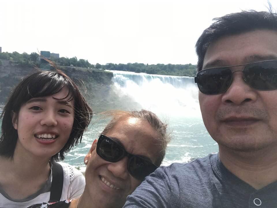 大学付属語学留学 トロント ナイアガラの滝へ Mihoさん