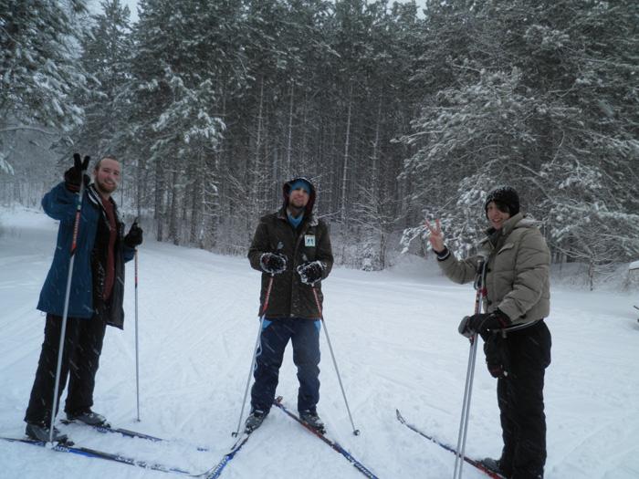 大学付属語学留学 トロント Masahiroさん カナダでスキーに挑戦