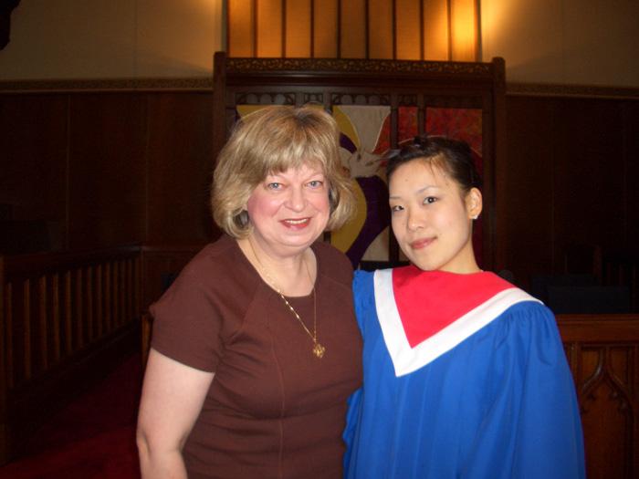 語学留学 専門留学 バンクーバー チャーチの方々と Yumiさん