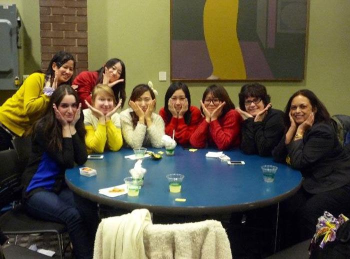 大学付属語学留学 ウィニペグ Fumikaさん 大学の仲間とアクティビティ