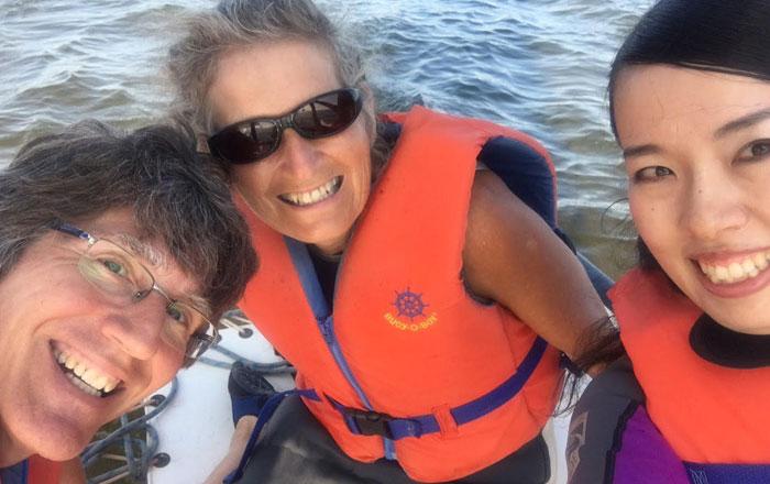 語学留学 ホームステイ プリンスエドワード島 短期 お世話になったヘレンさんとニールさんとカヌー Maiさん