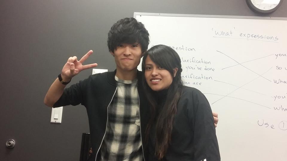 夏休み語学留学 バンクーバー クラスの仲間と一緒に Shizuyaさん