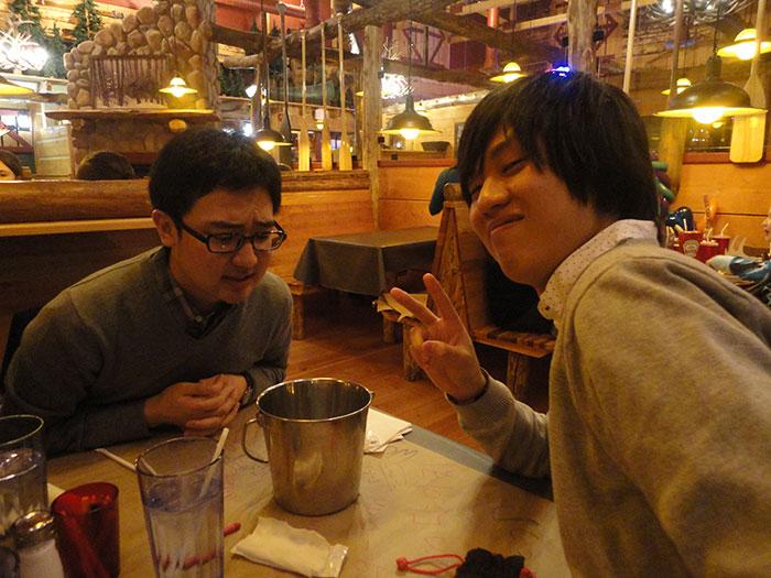 大学付属語学留学 ゲルフ 友達と外食 Daikiさん