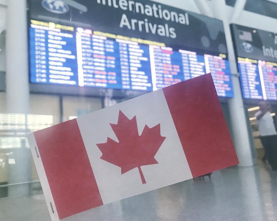 長期語学留学 トロント Chikaさんが撮影されたトロント空港の写真