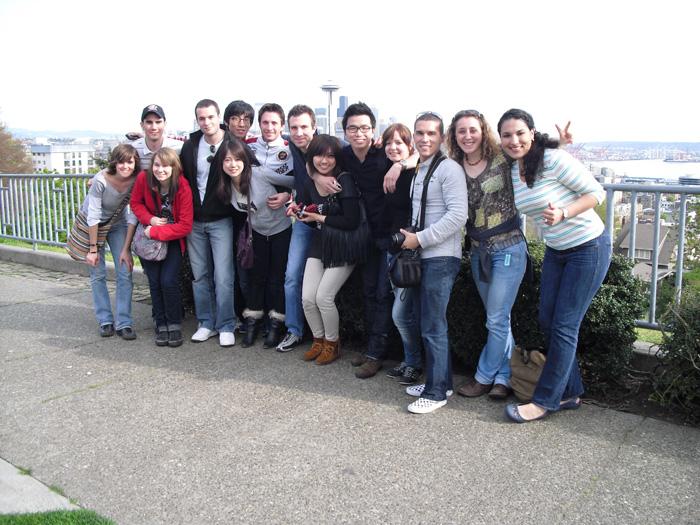 語学留学 & 仕事体験 バンクーバー Ayakaさん 大好きな仲間達とパーティーとの旅行
