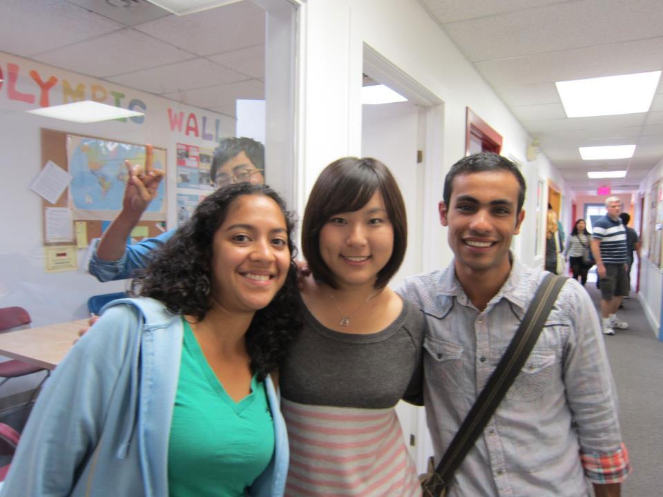 語学留学 インターンシップ 仕事体験 長期留学 ケローナ バンクーバー クラスメートの仲間と Yuiさん