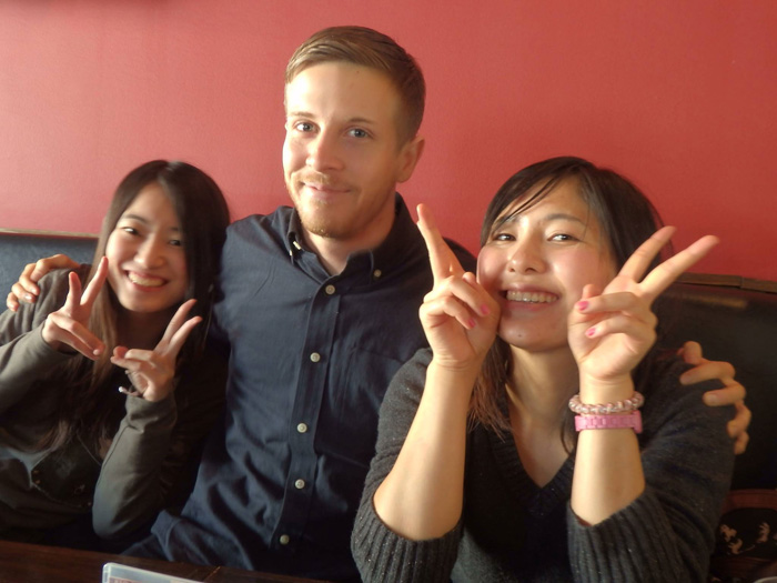 大学付属語学留学 ウィニペグ Fumikaさん 先生と