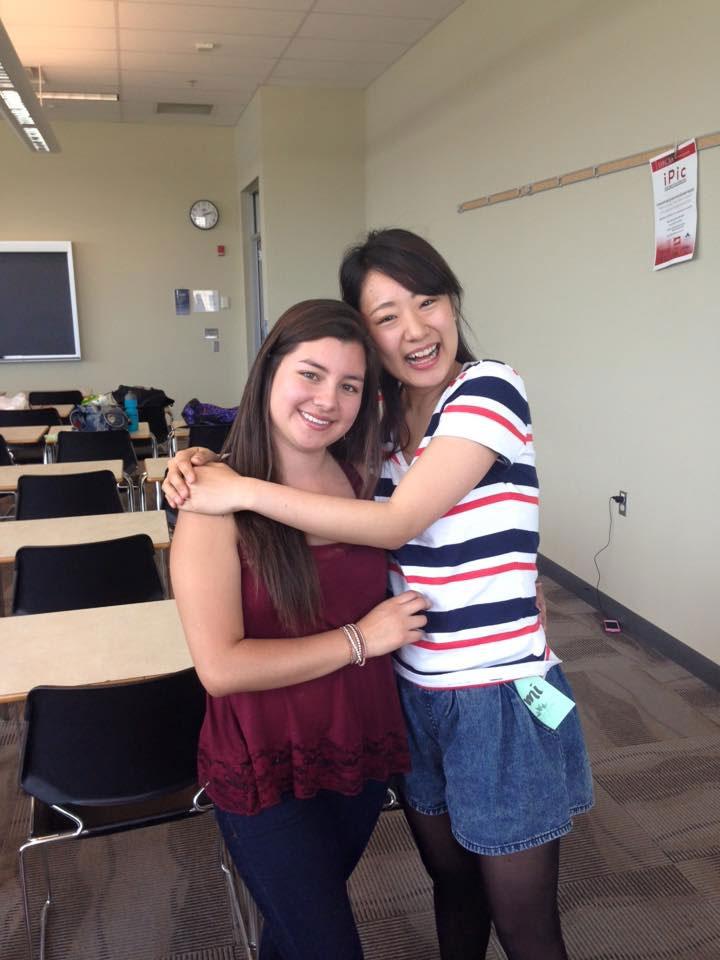 カルガリー 大学付属語学留学 大好きなクラスメートと Chihomiさん