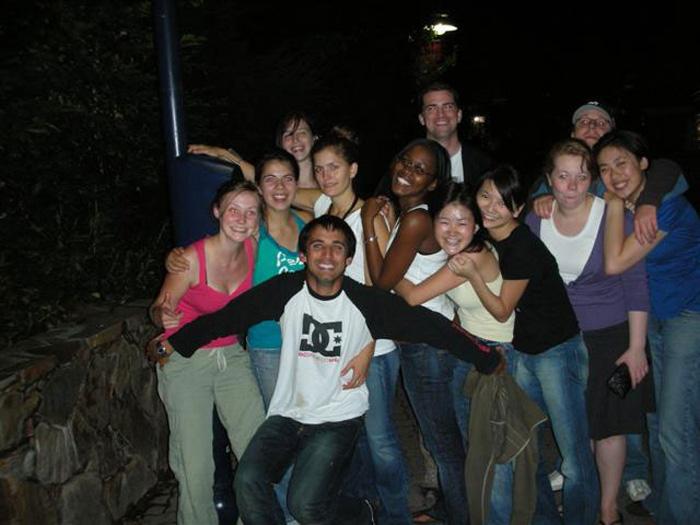 大学留学 バンクーバー 長期 UBCの仲間達とキャンプ Wakikoさん