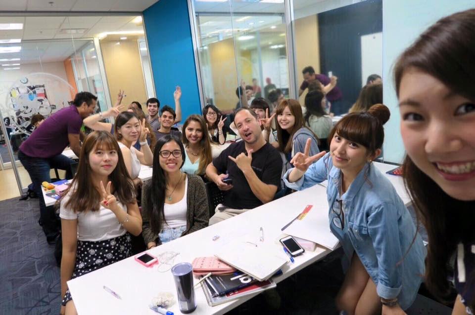 夏休み語学研修 バンクーバー クラスの皆と Hitomiさん