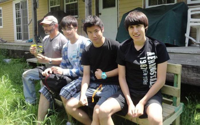 高校留学 ノバスコシア州 Toruさん ホストファミリーとバケーション