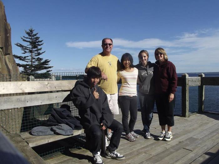 高校留学 ノバスコシア州 Toruさん ホストファミリーと観光