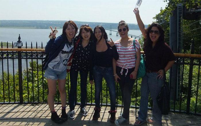 長期語学留学 モントリオール 大好きな仲間達と Minamiさん