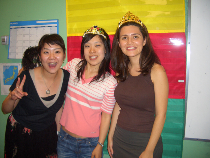 語学留学 専門留学 バンクーバー 児童英語教師コースのクラス内 Yumiさん