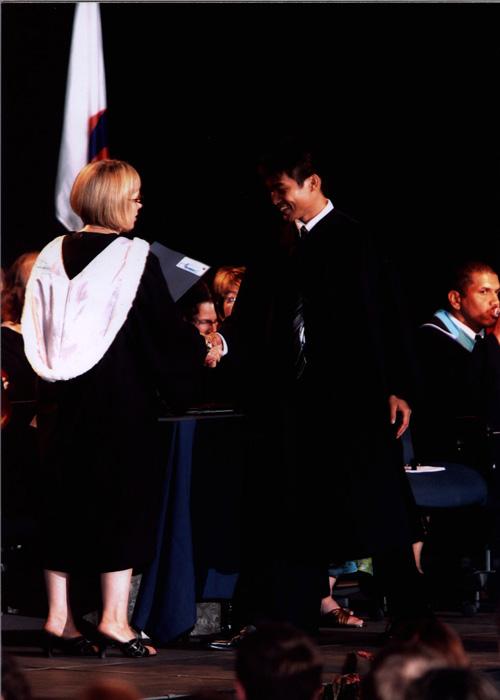 高校留学 ノバスコシア州 Junyaさん 卒業式の様子