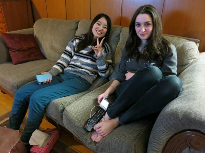 大学付属語学留学 ウィニペグ Fumikaさん ランゲージパートナーと自宅で