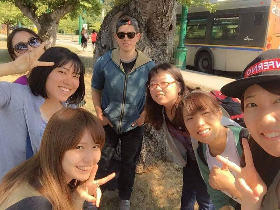 夏休み語学留学 バンクーバー アクティビティにて Ayakaさん