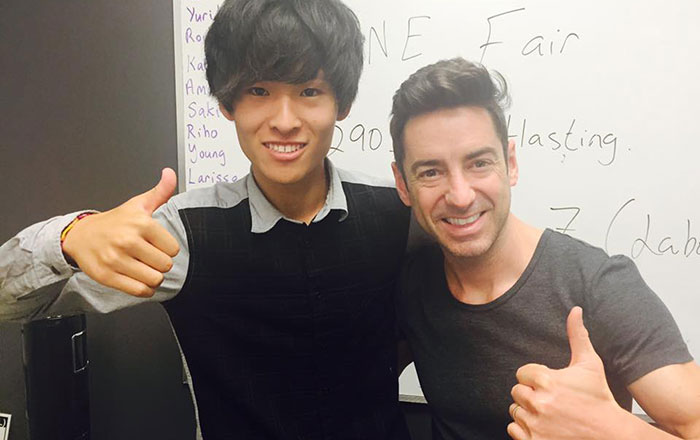 夏休み語学留学 バンクーバー クラスの仲間と Shizuyaさん