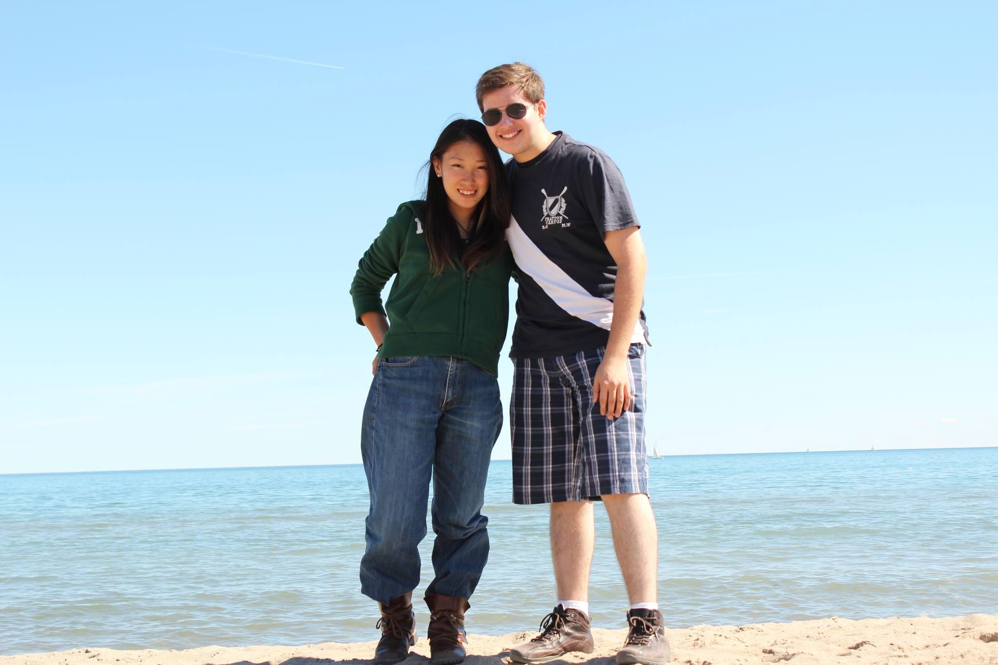トロント オタワ 語学留学 ファームステイ オンタリオ湖を訪問 Masamiさん