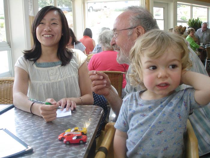 ワーホリ ハリファックス Tomoyoさん 大好きなホストと子供
