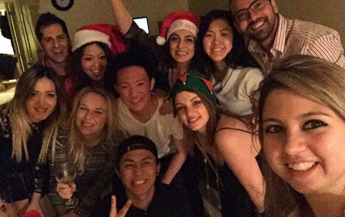 カレッジ留学 語学留学 トロント 素晴らしい仲間とパーティー Rikuさん
