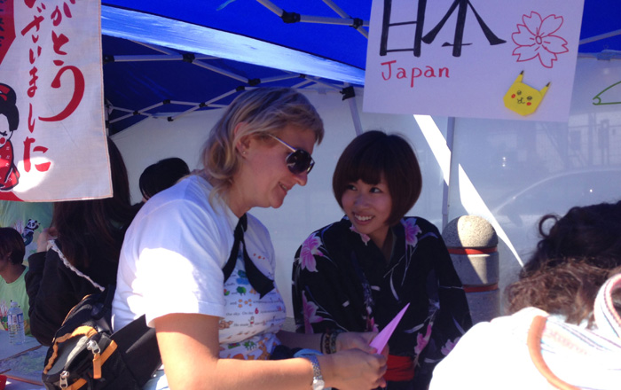 Misatoさん 中華街ボランティアで地元の方々との出会い