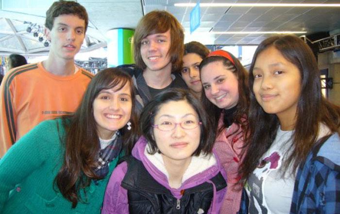 語学留学 バンクーバー Tomomiさん 大好きな仲間と