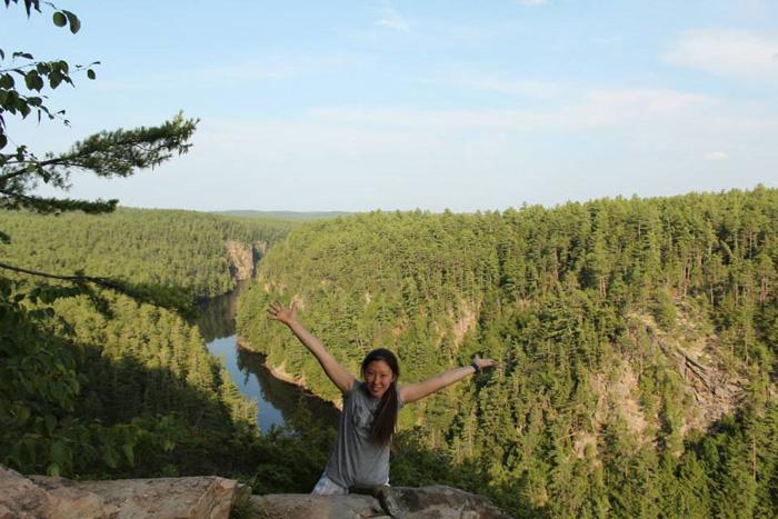 語学留学 ファームステイ トロント Masamiさん 雄大なアルゴンキン国立公園