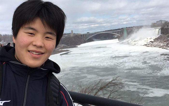 高校留学 サマーキャンプ カムループス Tatsuhiroさん