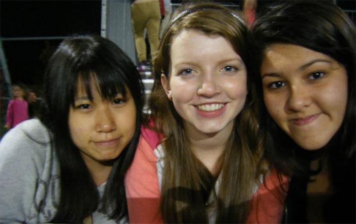 高校留学 ノバスコシア州 Mayuさんと友達