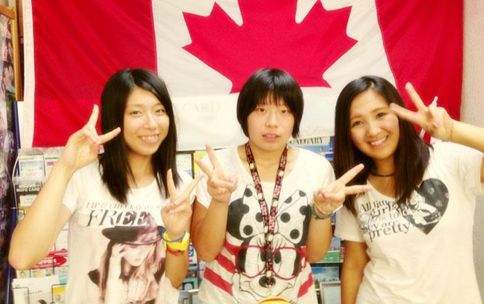 短期高校体験留学 ビクトリア Chihoさん