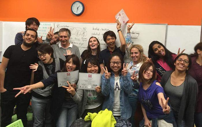 夏休み語学留学 バンクーバー 大好きな楽しいクラスメイト達と Harukaさん