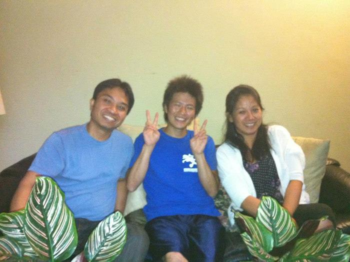 語学留学 中期留学 長期留学 バンクーバー ホストファミリーと Junさん