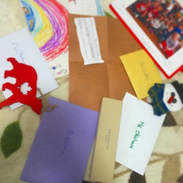 児童英語教師 インターンシップ ボランティア ノバスコシア州 教材 Shizukaさん