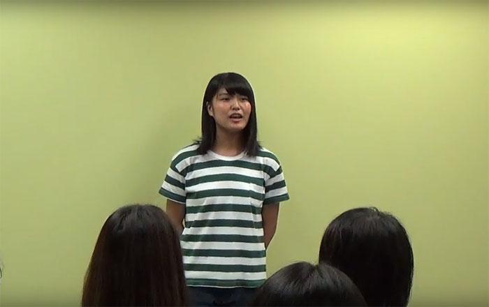 看護師の為の留学 Vector バンクーバー 最終スピーチ Kasumiさん