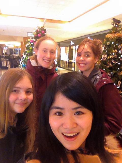 高校留学 スコーミッシュ 仲良しの友達と  Nanakoさん