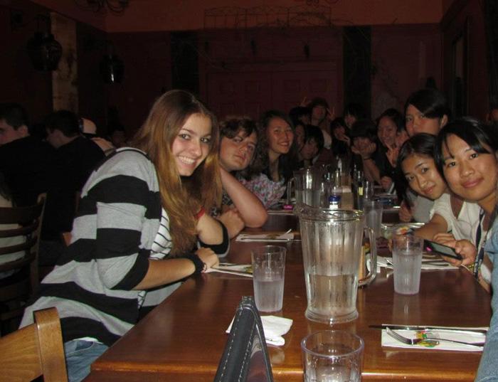 高校留学 ノバスコシア州 Toruさん 学校の仲間とパーティー