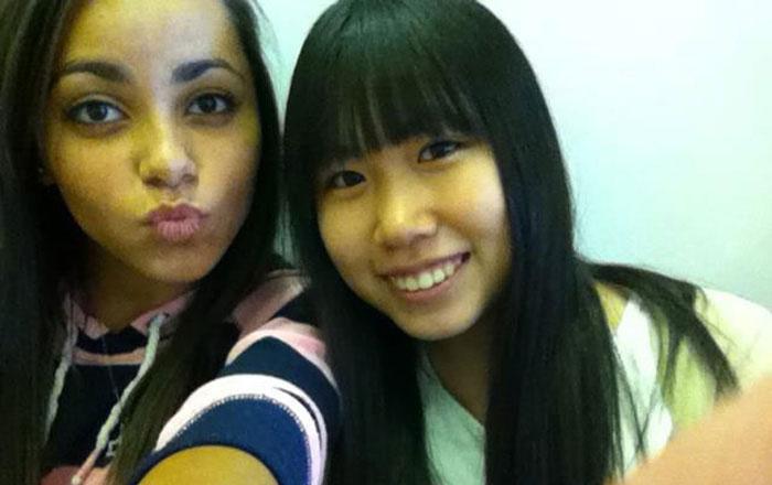 高校留学 ノバスコシア州 仲良しの親友と Mayuさん