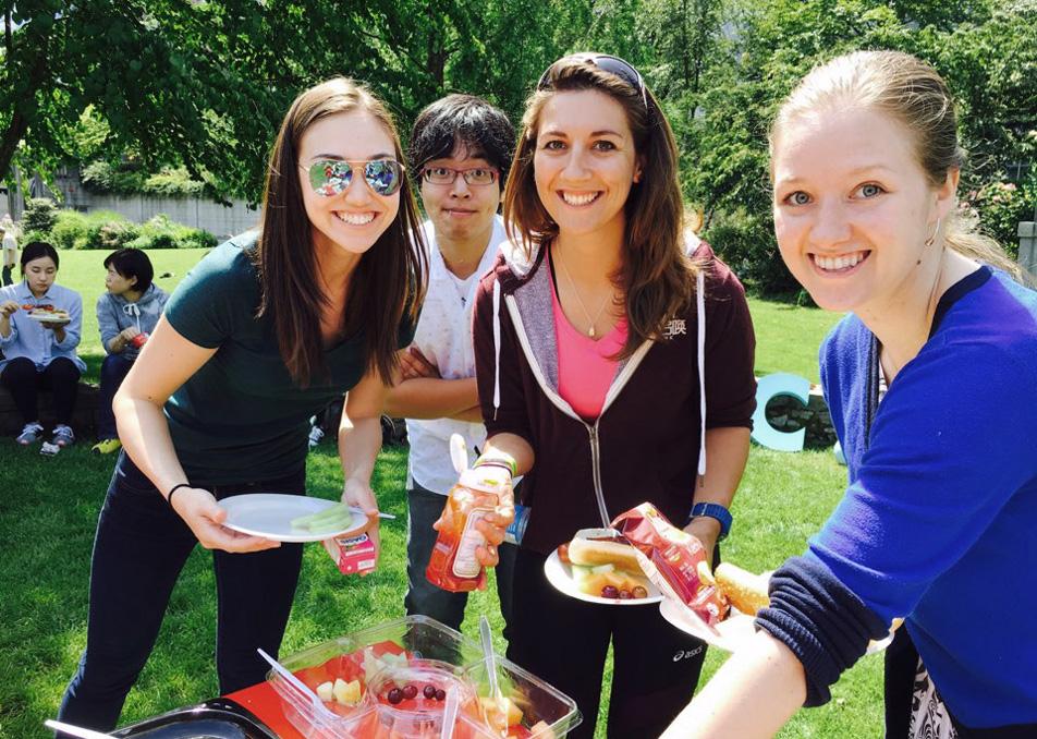 Global College 皆でピクニック