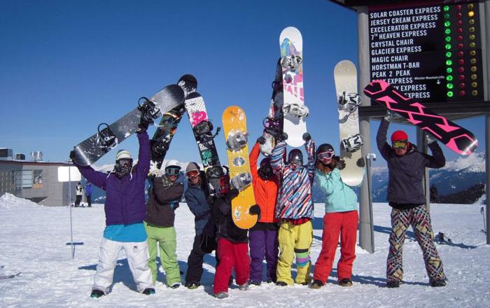 世界最高のスキー場で最高の仲間達と!