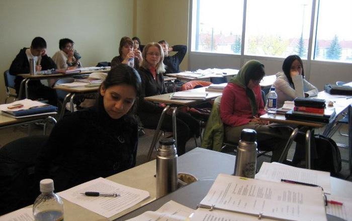 マウントロイヤル大学の国際色豊かなクラス