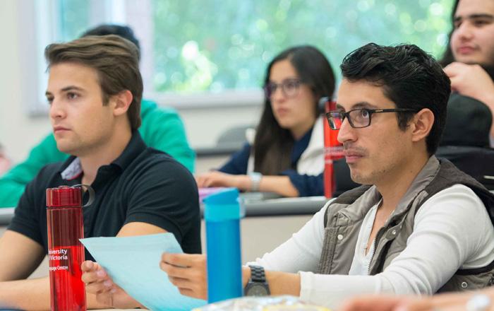 ビクトリア大学の授業風景