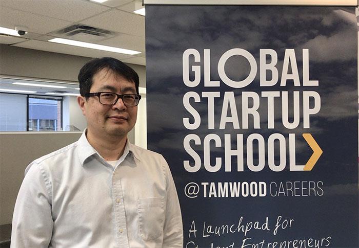 Tamwood Career の日本人スタッフのYasuさん
