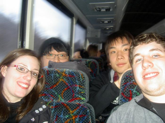 高校留学 ノバスコシア州 学校のアクティビティに参加中 Ryugoさん