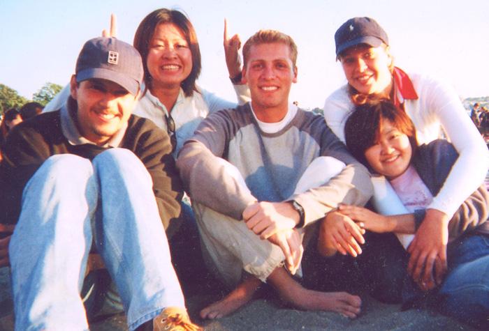 大学留学 バンクーバー 長期 語学学校仲間達とWakikoさん