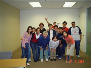 ワーホリ バンクーバー クラスの皆と Masashiさん