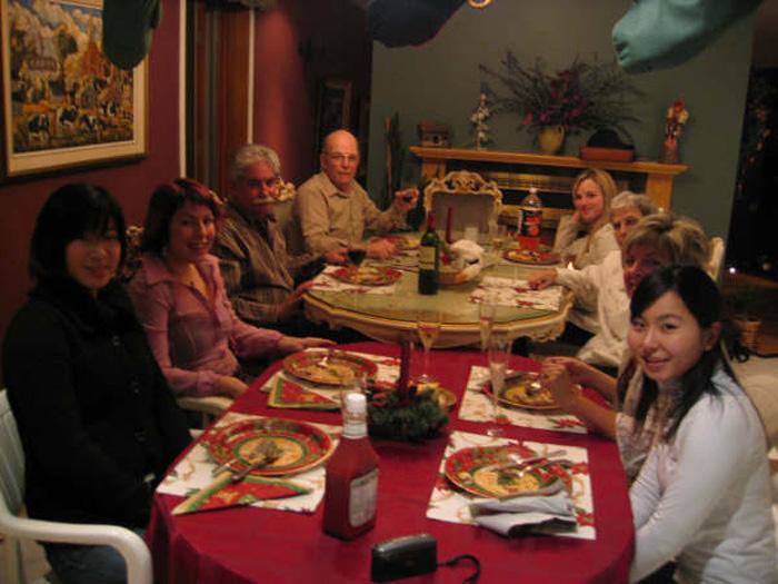カナダでのクリスマスパーティー Yufukoさん
