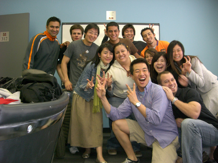 ワーキングホリデー トロント クラスメート達と Aiさん