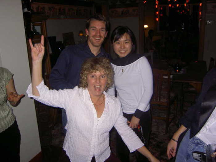 語学留学 インターンシップに挑戦、愉快な仲間達2 Yufukoさん