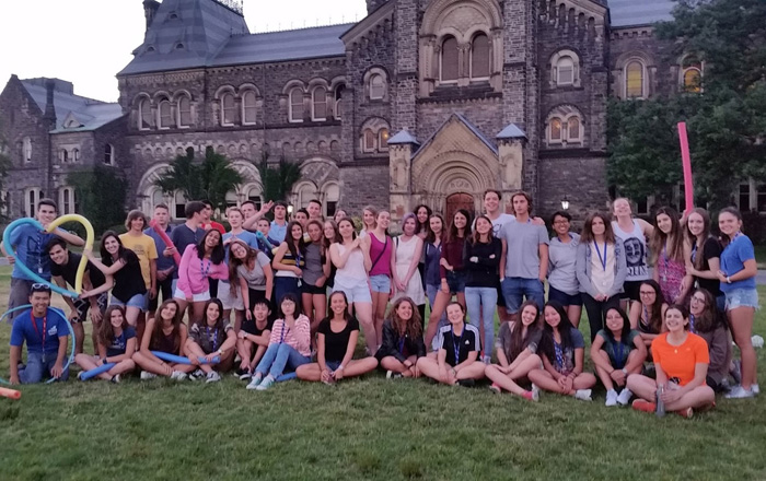 CISSサマーキャンプ トロント大学で全員集合